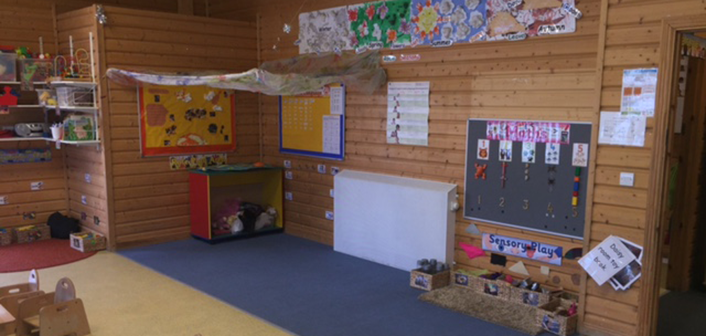 Kiddies Cabin inside nursery