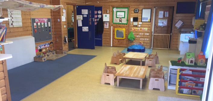 Kiddies Cabin inside nursery