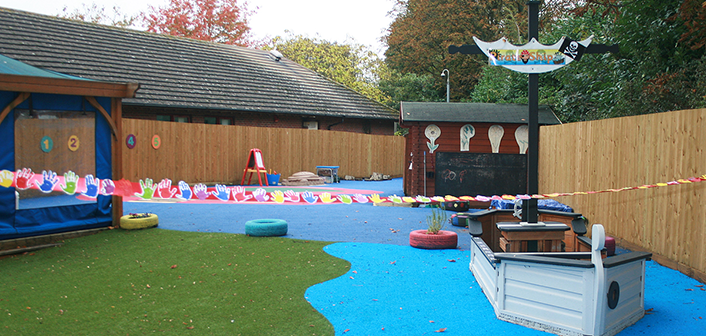 Refurbished Play Area